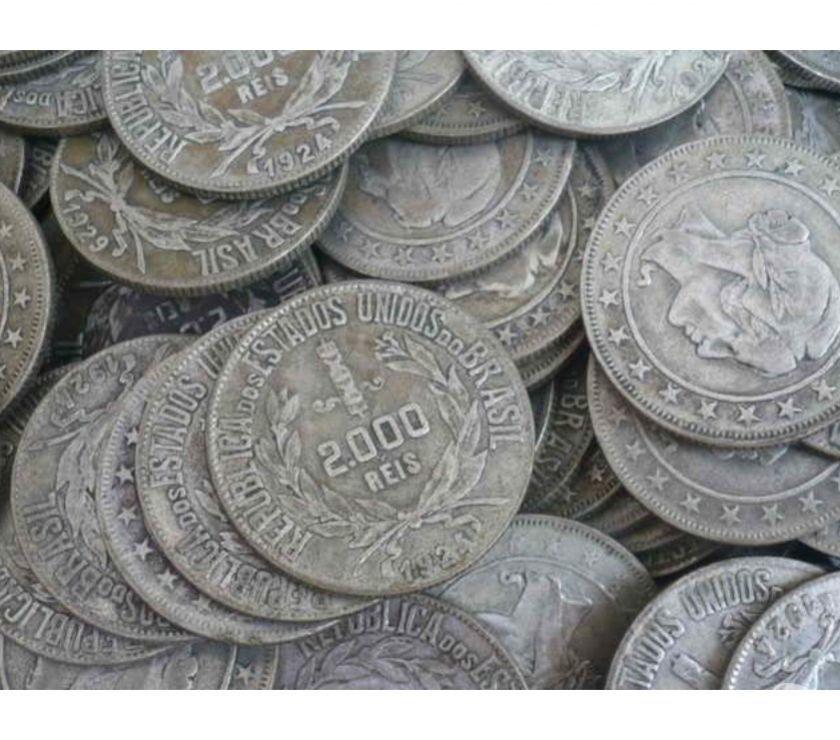 50 Quilos de Moedas Antigas e Variadas desde  R$