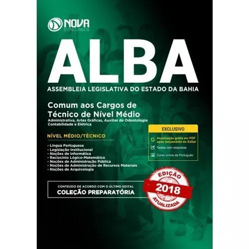 Apostila Preparatória Alba 2018-comum Cargos Téc Nível