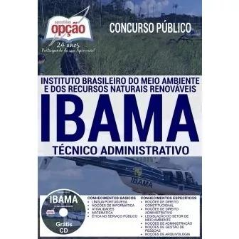 Apostila Preparatória Ibama 2018 - Técnico Administrativo