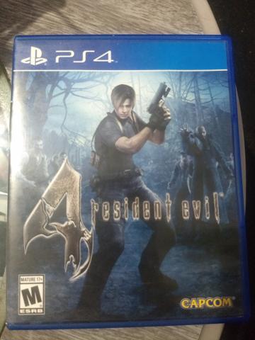 Jogo PS4 Resident Evil 4