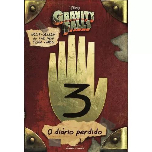 Livro Diário Perdido De Gravity Falls Volume 3