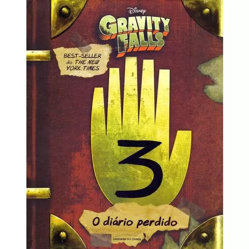 Livro Gravity Falls - Journal 3 - Original