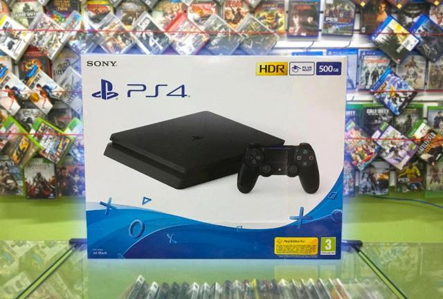 PlayStation 4 Slim Novo c/ 1 ano de garantia!