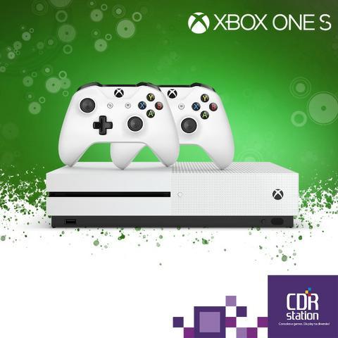 Xbox One S 1TB Com 2 Controles e 2 Anos de Garantia Modelo