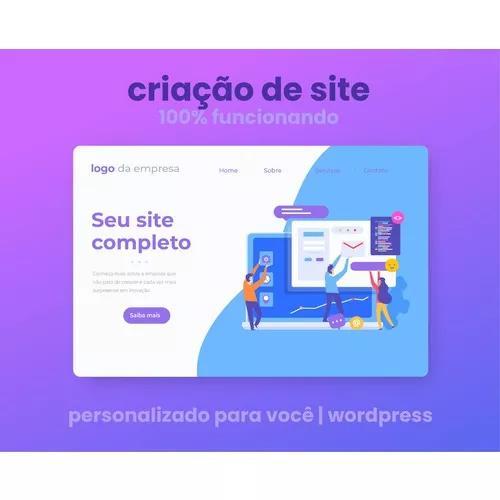 Criação De Sites | Totalmente Gerenciável | Wordpress