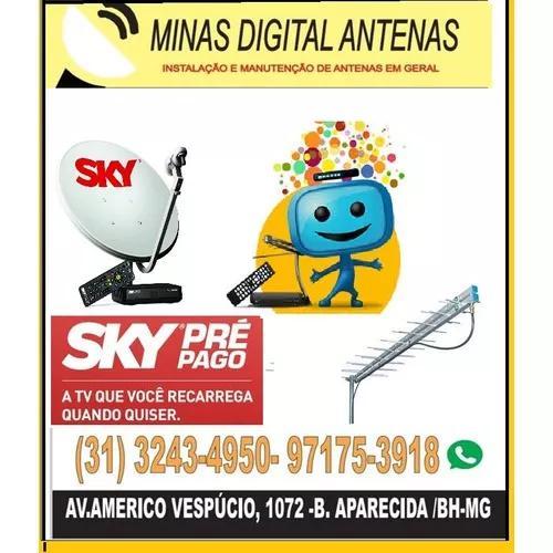 Instalador De Antenas / Técnico Antenista Bh E Regiao