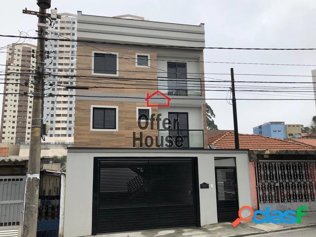 Apartamento com 2 dorms em Santo André - Jardim Stella por