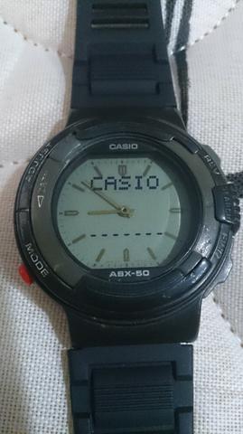 c7eb1376211f Relógio casio abx 50 vintage antigo