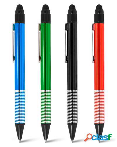 caneta touch de metal para brindes