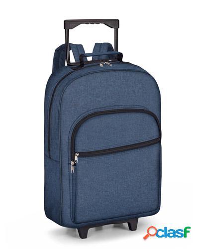 mochila com rodinhas para notebook personalizada
