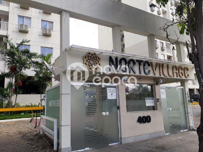 Del Castilho, 2 quartos, 1 vaga, 50 m² Rua Degas, Del