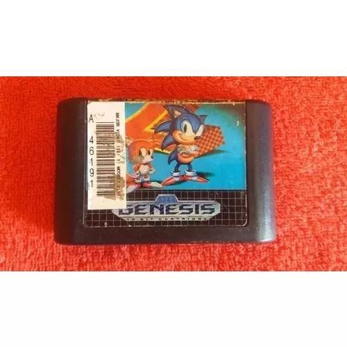 Sonic The Hedgehog 2 Original Mega Drive Funcionando 100%