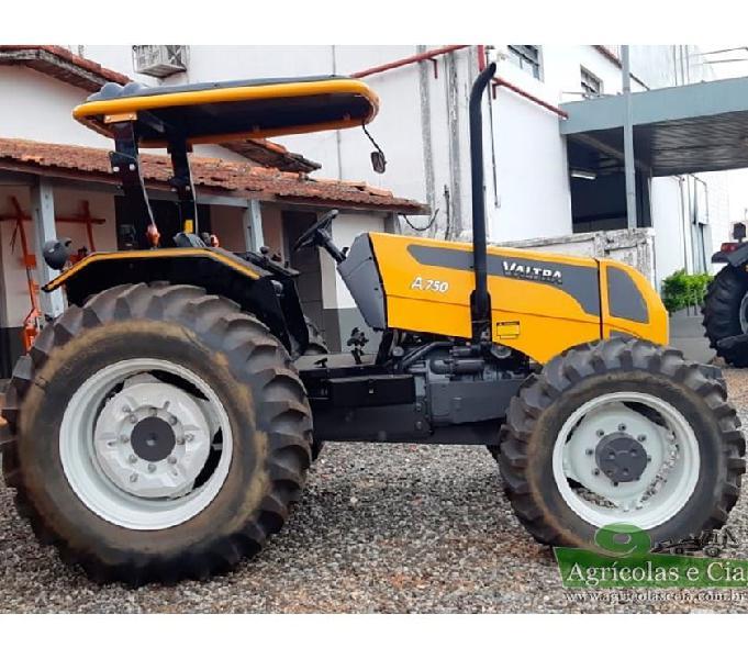 Trator Valtra A 750 4x4 (Apenas 28 Horas Trabalhadas!)