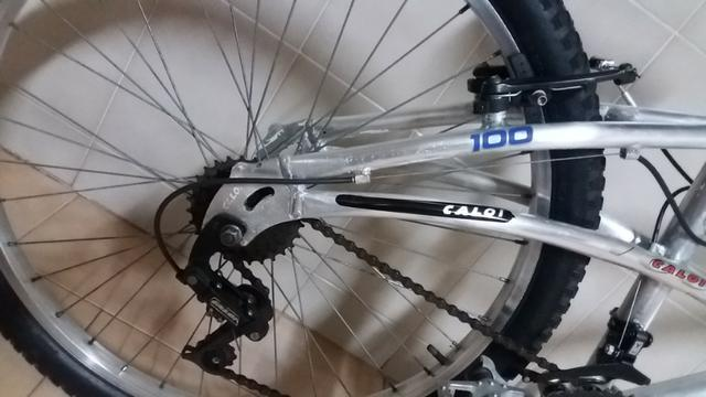 Bicicleta Caloi em aluminio,, modelo Mountain Bike Caloi 100