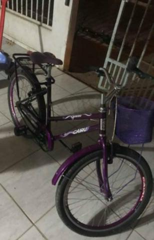 Bicicleta cairu com nota fiscal
