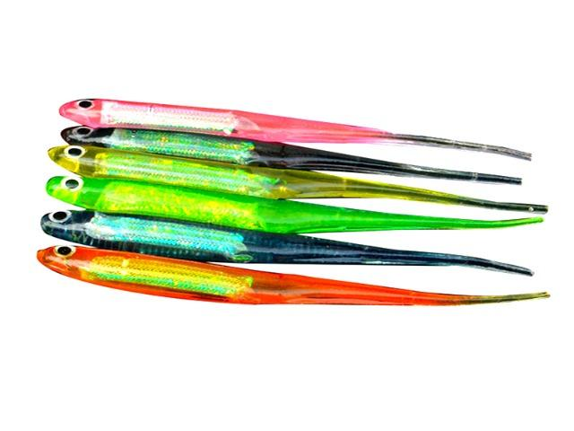 Isca Artificial Shad Kit 6 Unidades