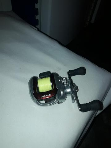 Vendo kit pesca vara 2.40m pro tamba e carretilha Shimano