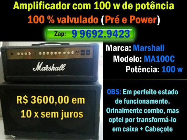 Amplificador Marshall MA100