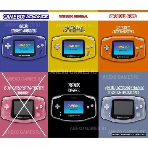 Game Boy Advance N O V O Original Nintendo Gratís +
