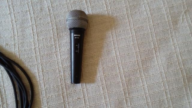 Microfone Shure SV 100 original