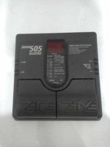 Pedaleira Zoom 505 sem fonte (funcionando)