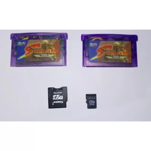 Super Card Mini Sd Gba Nintendo Ds Lite 200 Jogos P/entrega!