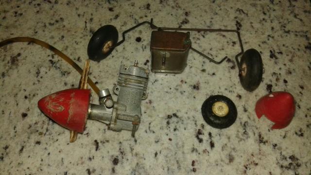 Aeromodelismo Motor Sassi 15 ll