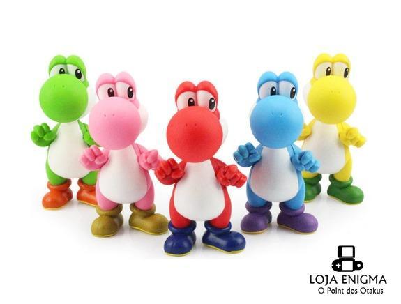 Bonecos/Action Figures Super Mario, Yoshi (Frete Grátis)