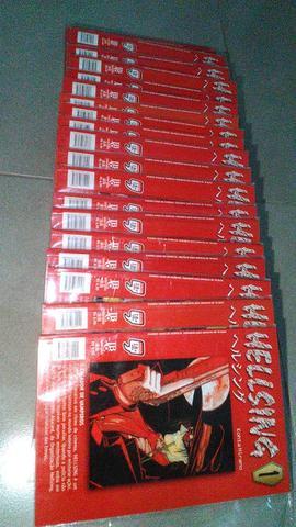 Coleção de mangás de Hellsing