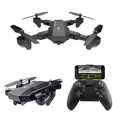 Drone Visuo XS809W com Câmera de 0.3MP 480P. Filma e Tira
