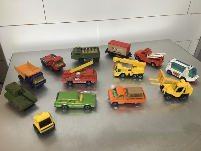 Miniaturas carrinhos matchbox antigos anos 70 modelismo