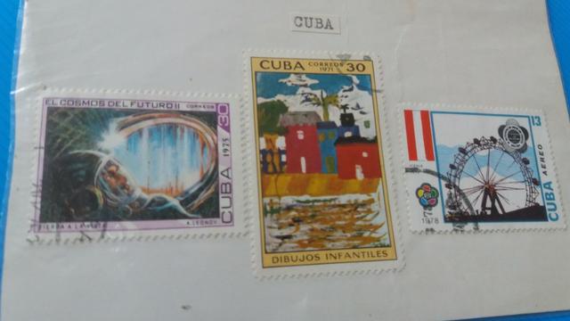 Selos de Vários Países (conservados anos 60 e 70)