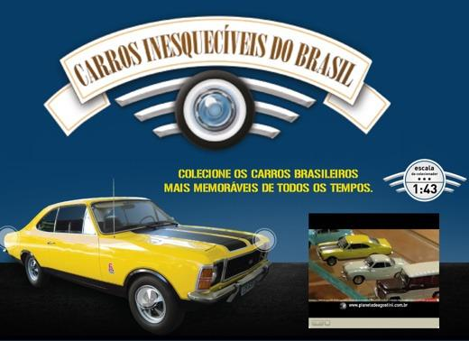 Vendo Coleção Carros Inesquecíveis do Brasil