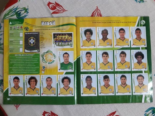 Vendo Álbum Completo De Figurinhas Copa
