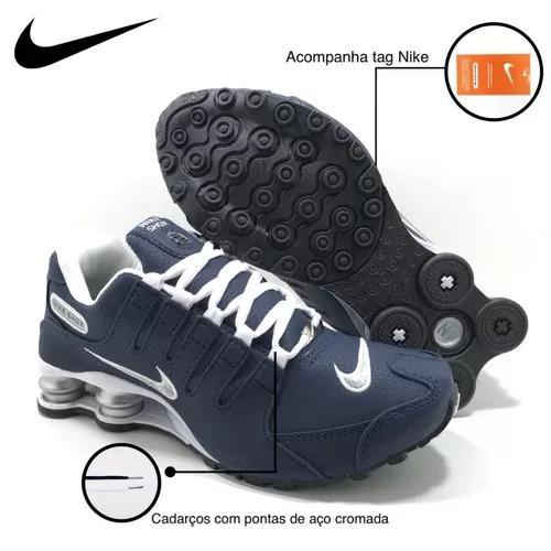Nike Shox Nz 4 Molas Original Cores Fret Asics