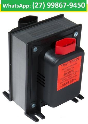 Promoção Transformador De Voltagem Bivolt 110v E 220v