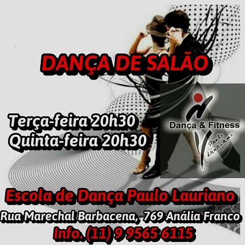Aula Experimental de Dança de Salao com Paulo Lauriano