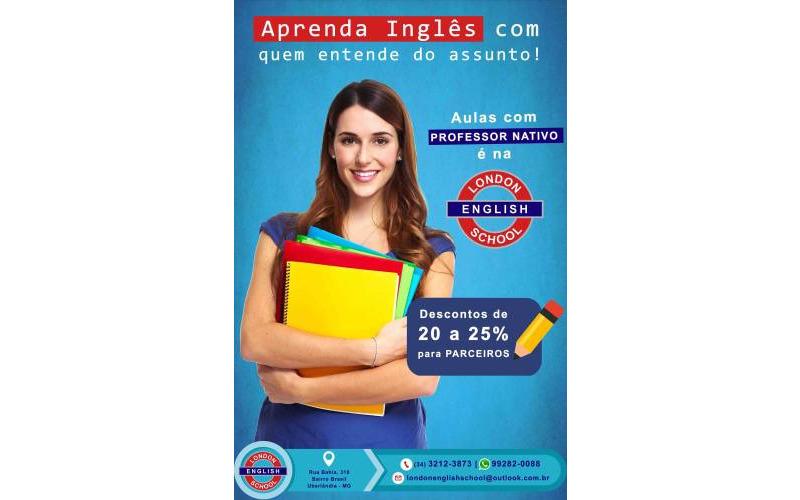 Aulas de inglês com professor nativo em Uberlândia