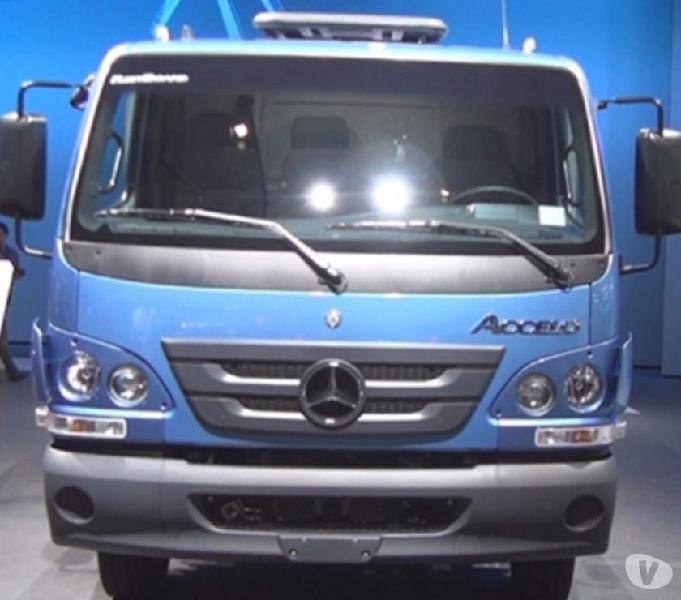 Caminhão Mb Accelo 2016 Avista ou Entrada a Combinar +