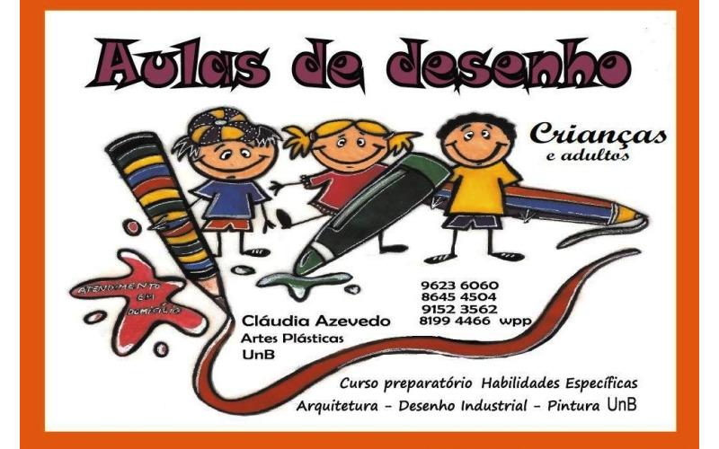 Curso de desenho para crianças em Brasília