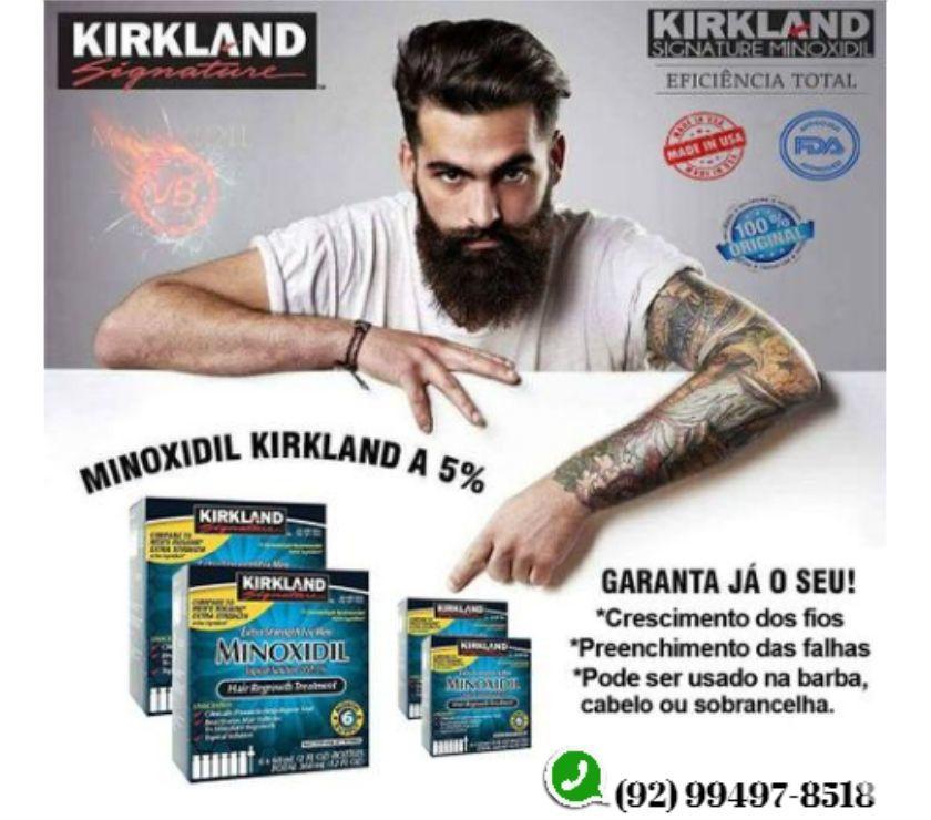 Minoxidil Kirkland Manaus