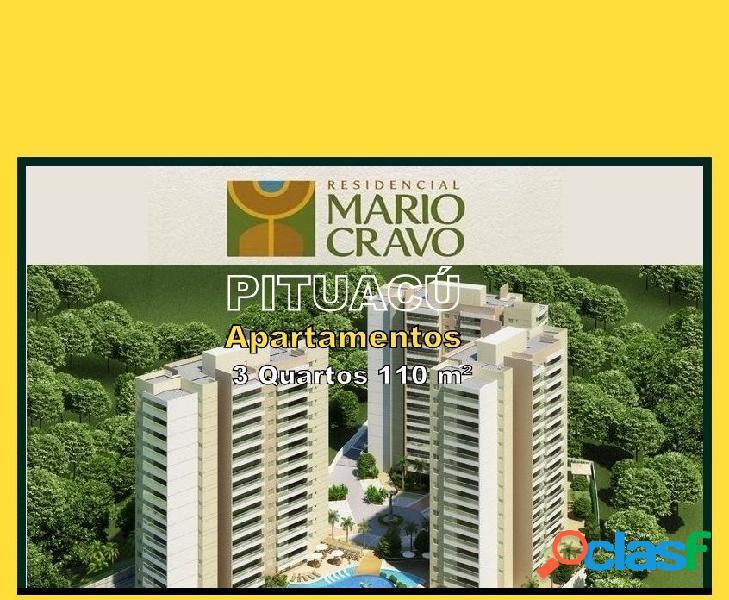 Residencial Mario Cravo - Apartamento a Venda no bairro