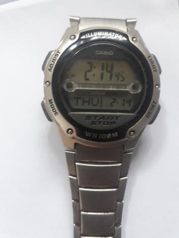 Vendo relógio Cassio novo modelo WR 10 8 m start stop