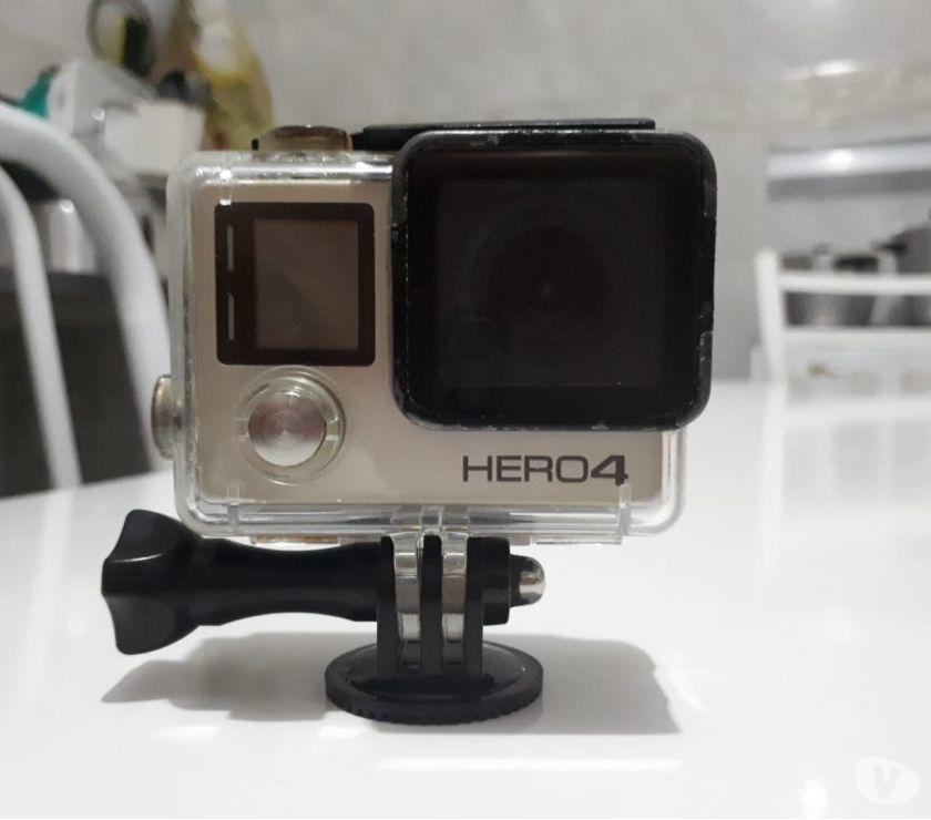 Camera Gopro Hero 4 Silver. Parcelo no cartão em até 12x