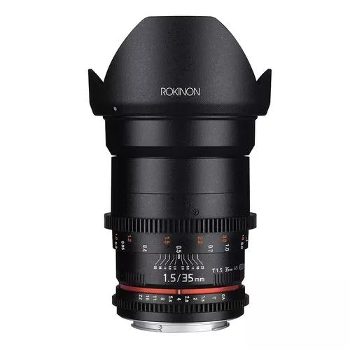 Lente Rokinon Cine 35mm T1.5 Ds As If Umc | Para Canon