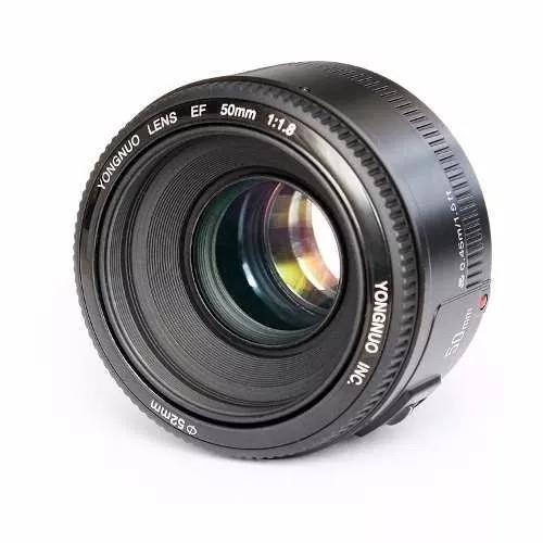 Lente Yongnuo 50mm F/1.8 Pronta Entrega À Vista P/canon