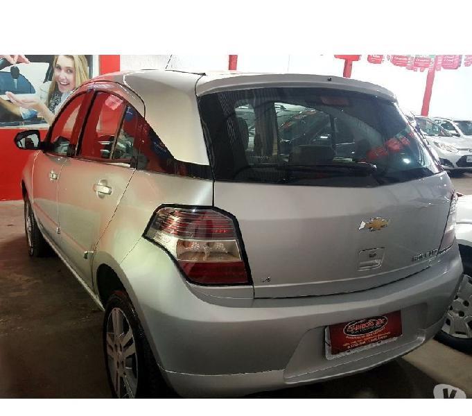 AGILE LTZ 1.4 FLEX ANO 2013 COMPLETO COR PRATA R$9.900,00