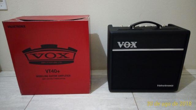 Amplificador de Guitarra Vox Valvetronix VT 40+