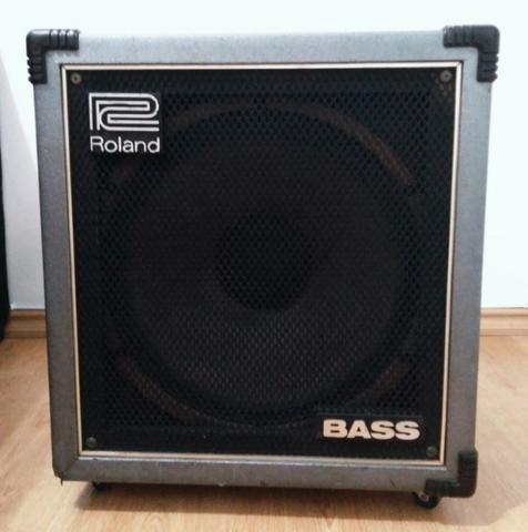 Amplificador para Baixo Roland Cube 100 Bass Japonês -