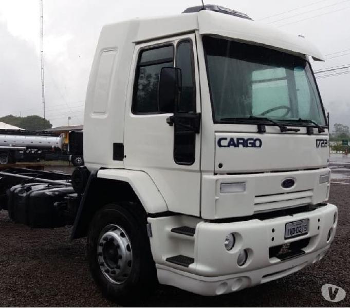 Ford Cargo 1722 2009 4x2 Toco Cabine Leito Ar Condiconado